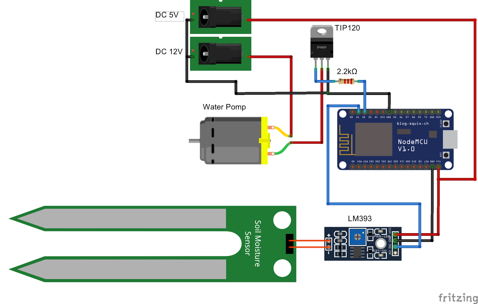 Arduino nano connector