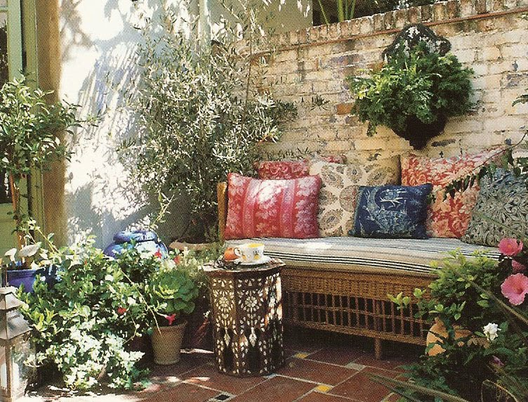 Banquette inspiration Outdoor