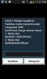 PROMO INTERNET!!! Paket Kampus Telkomsel