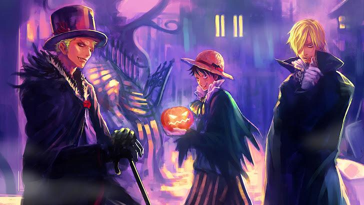 Vampire Zoro, Luffy, Sanji
