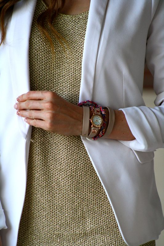 Metallics Trend-Summer Style-Personal Style Blogger-La Mer Watch