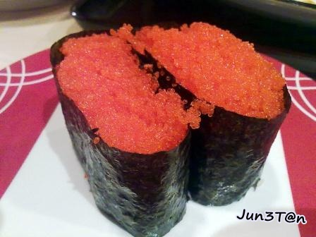 Junetanyp ichiban boshi sunway giza kota damansara for Fish eggs on sushi