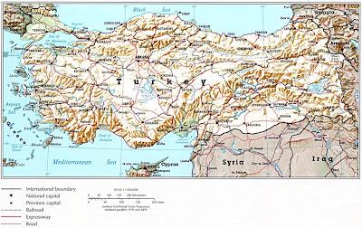 Türkiye Haritası Bölgesel