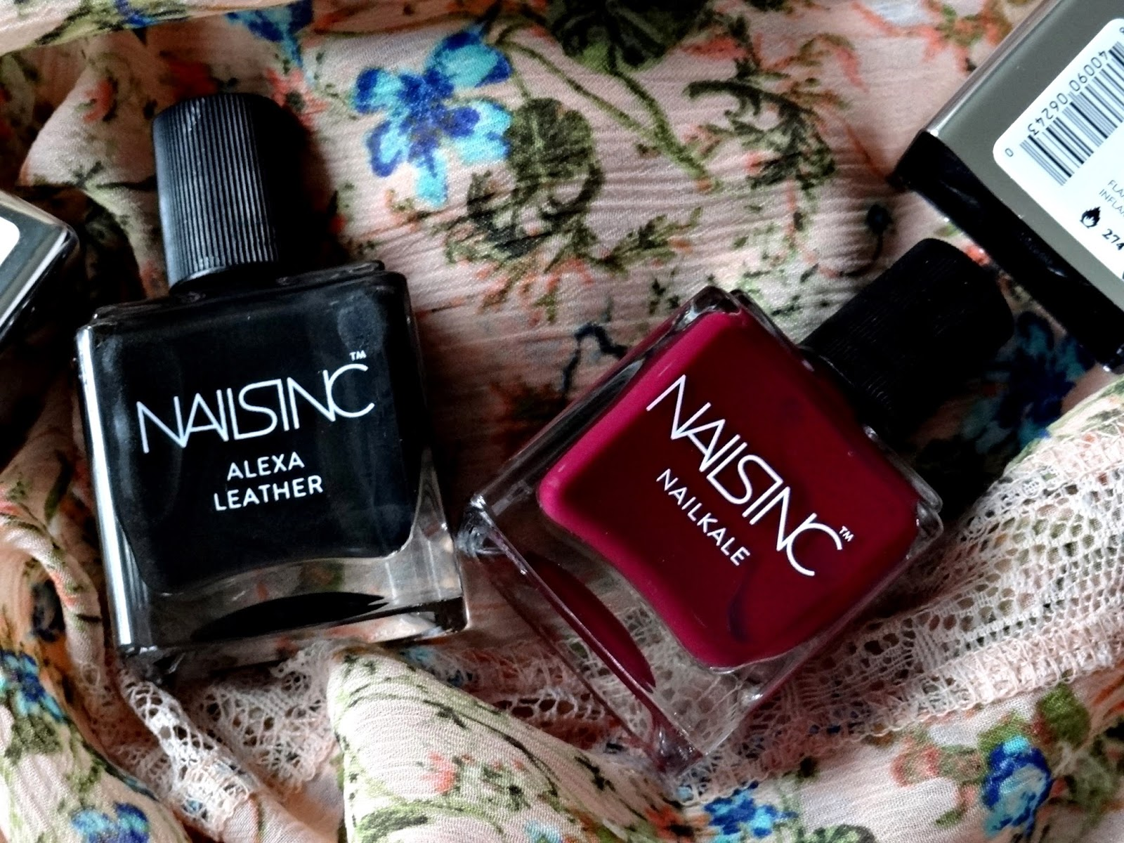 Nails Inc. Nailkale in Holland Walk and Alexa Leather