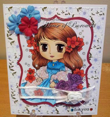 Art by Miran Flower Diva Adonica
