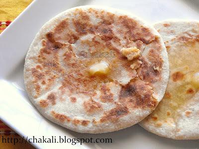 satorya, how to make satori, khava poli, khoya roti, khavyachi poli