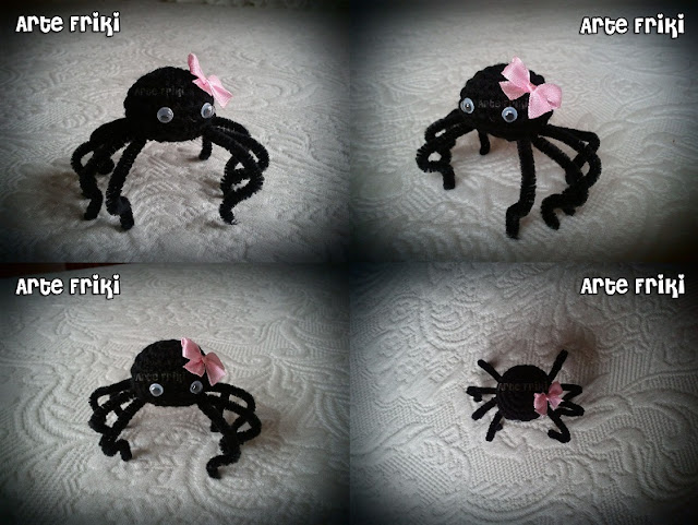 araña amigurumi spider crochet ganchillo insecto