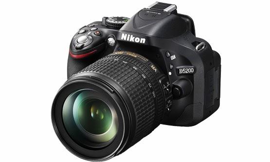 Harga dan Spesifikasi Kamera Nikon D5200 Terbaru 2015