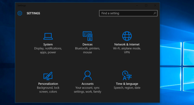 How to unlock the hidden Dark Theme in Windows 10