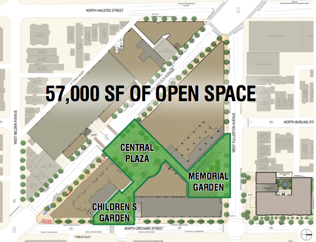 The Plan Calls For Three Areas Of Open Space That Will Be Available For  Public Use. We Like That There Will Be Open Paths Leading From Each Of The  Three ...