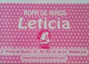 Leticia Ropas Infantil