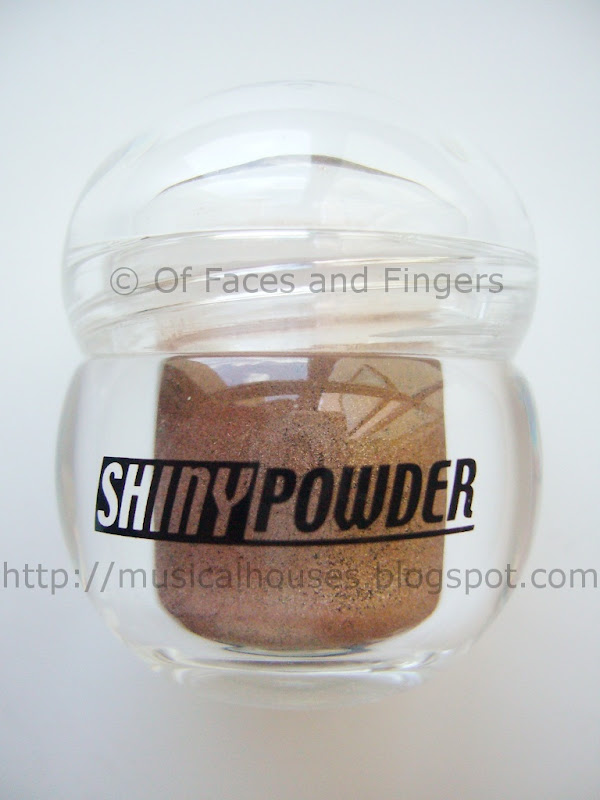 Daiso Shiny Powder Brown