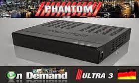 ATUALIZAÇÃO PHANTOM ULTRA 3 HD ON DEMAND - V1.84 - 26/01/2015