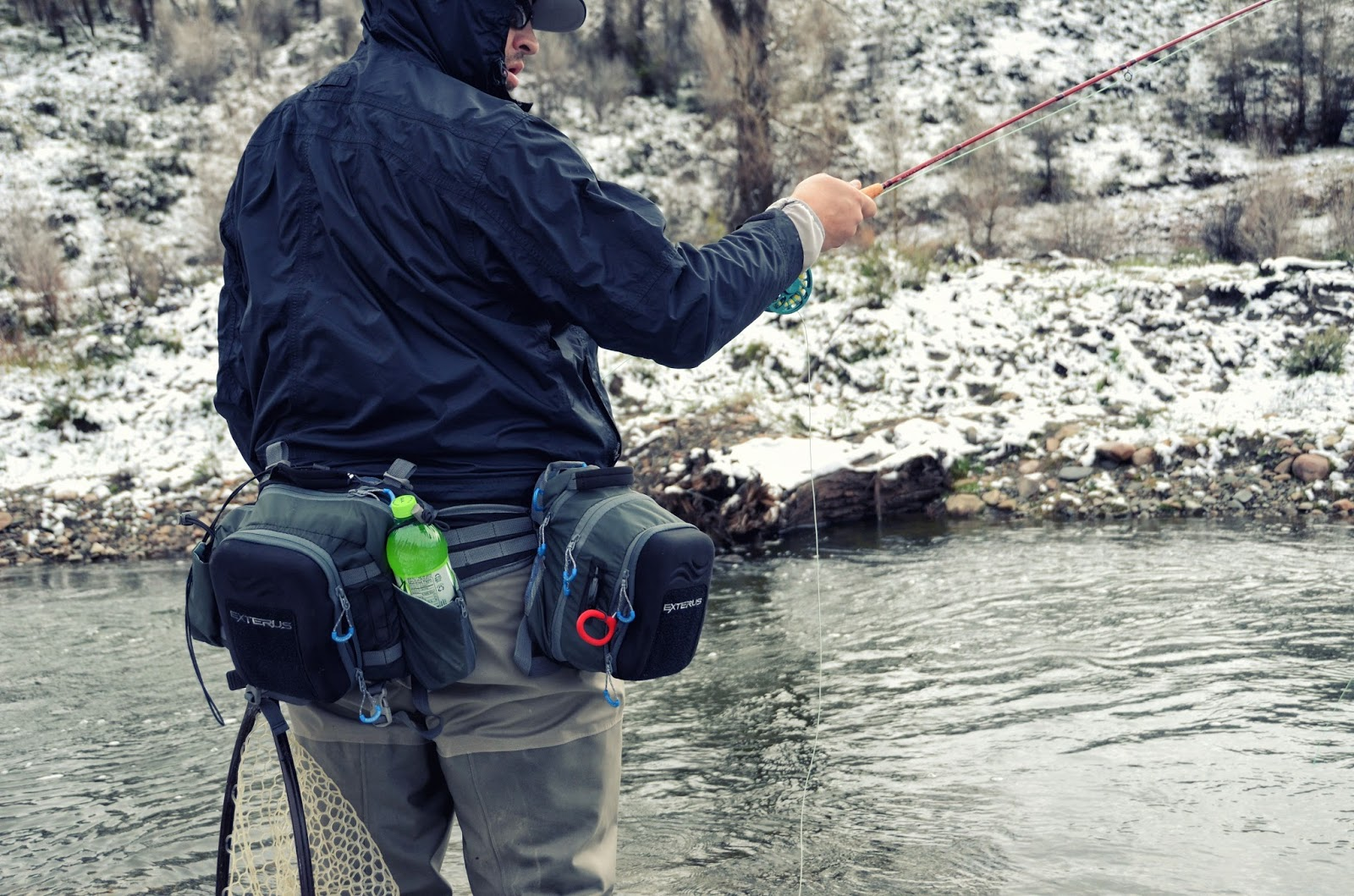 Allen exterus packs fly fish food fly tying and fly for Fly fishing pack