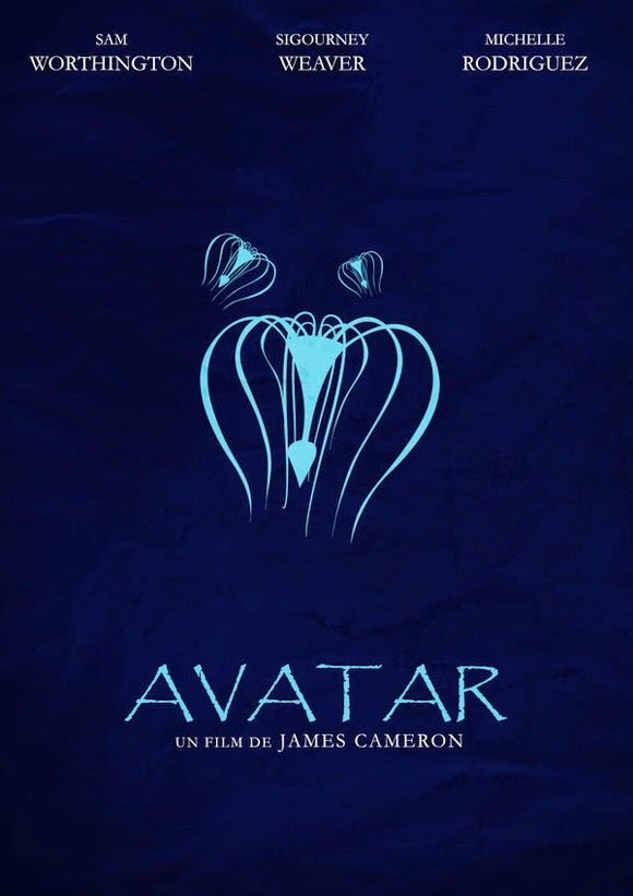 Minimalist Movie Poster Avatar