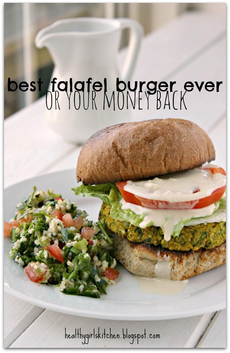 ... Girl's Kitchen: Vegan. Oil free. Unfried. Falafel Burgers. Fabulous