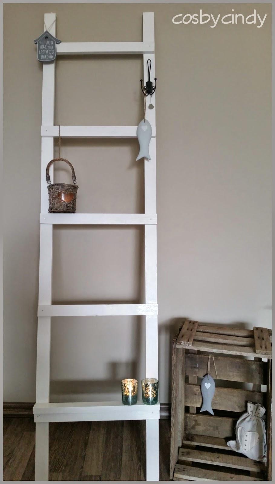 Cosy by cindy altijd iets leuks te vinden decoratie ladder voor in huis - Decoratie ramp trap ...