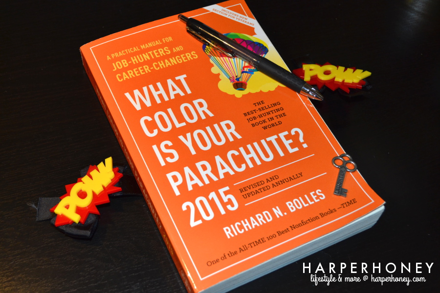 Book Review What Color Is Your Parachute Harper Honey