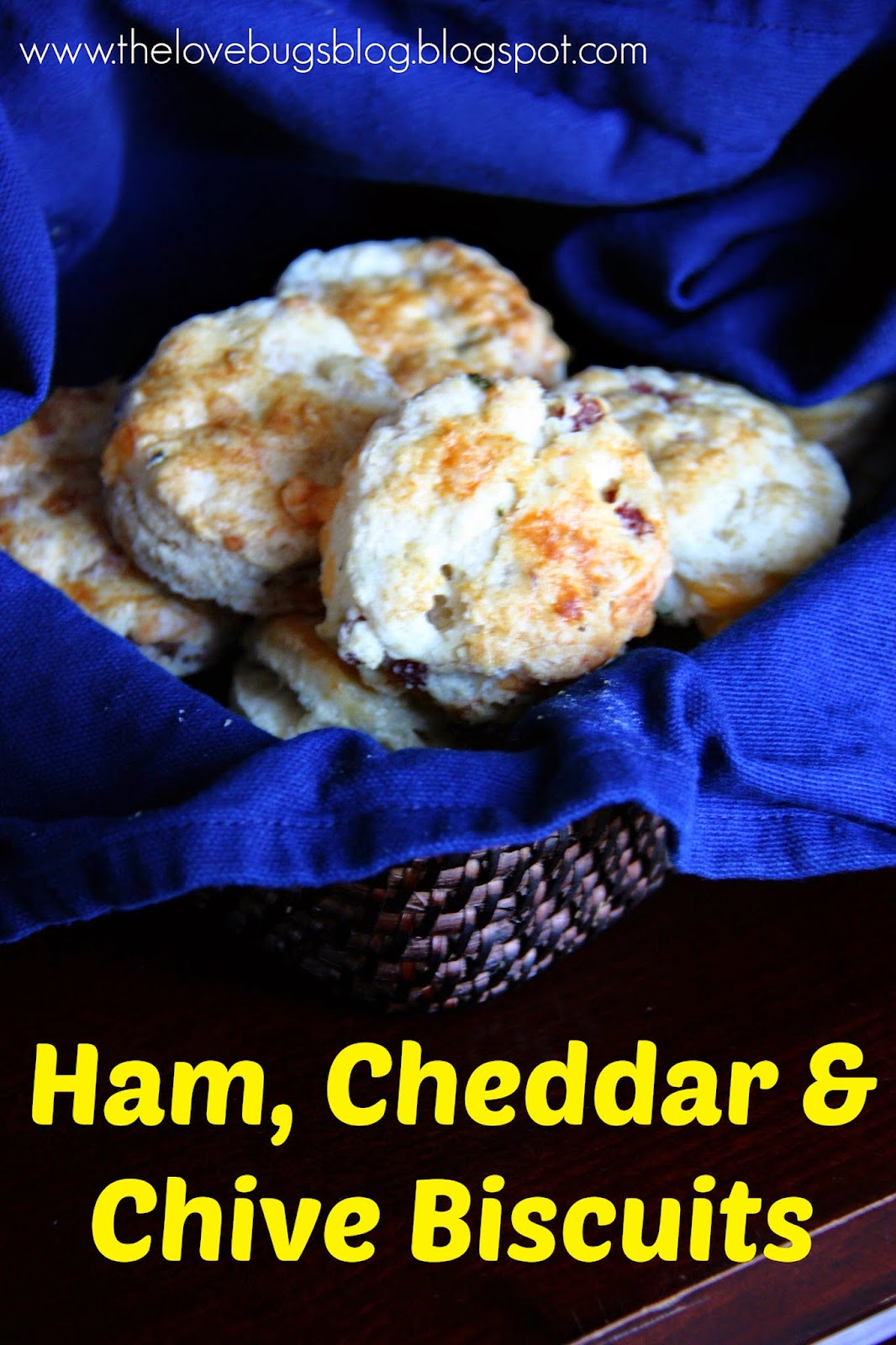 Ham, Cheddar & Chive Biscuit