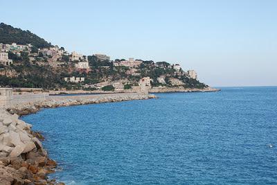 La Costa Azul, conocida también como ribera francesa