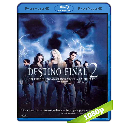 Destino final 2 (2003) BRRip 1080p Audo Trial Latino/Castellano/Ingles 5.1