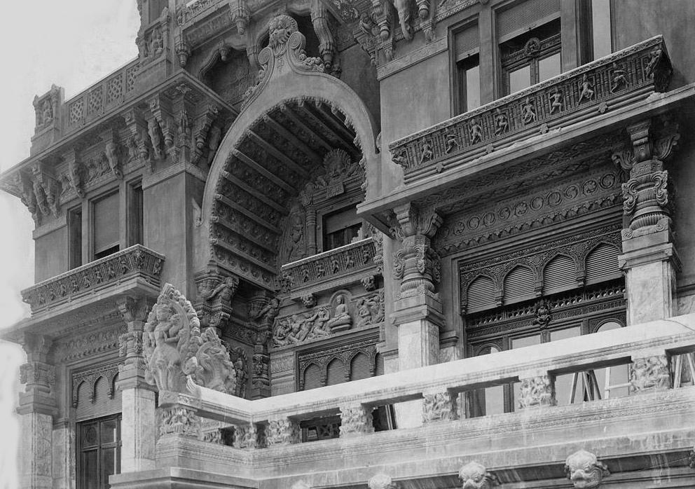 Un palais hindou construit par un architecte fran ais for Architecte francais