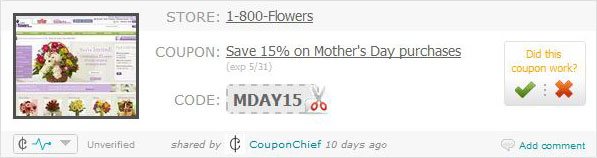 couponchief coupon code