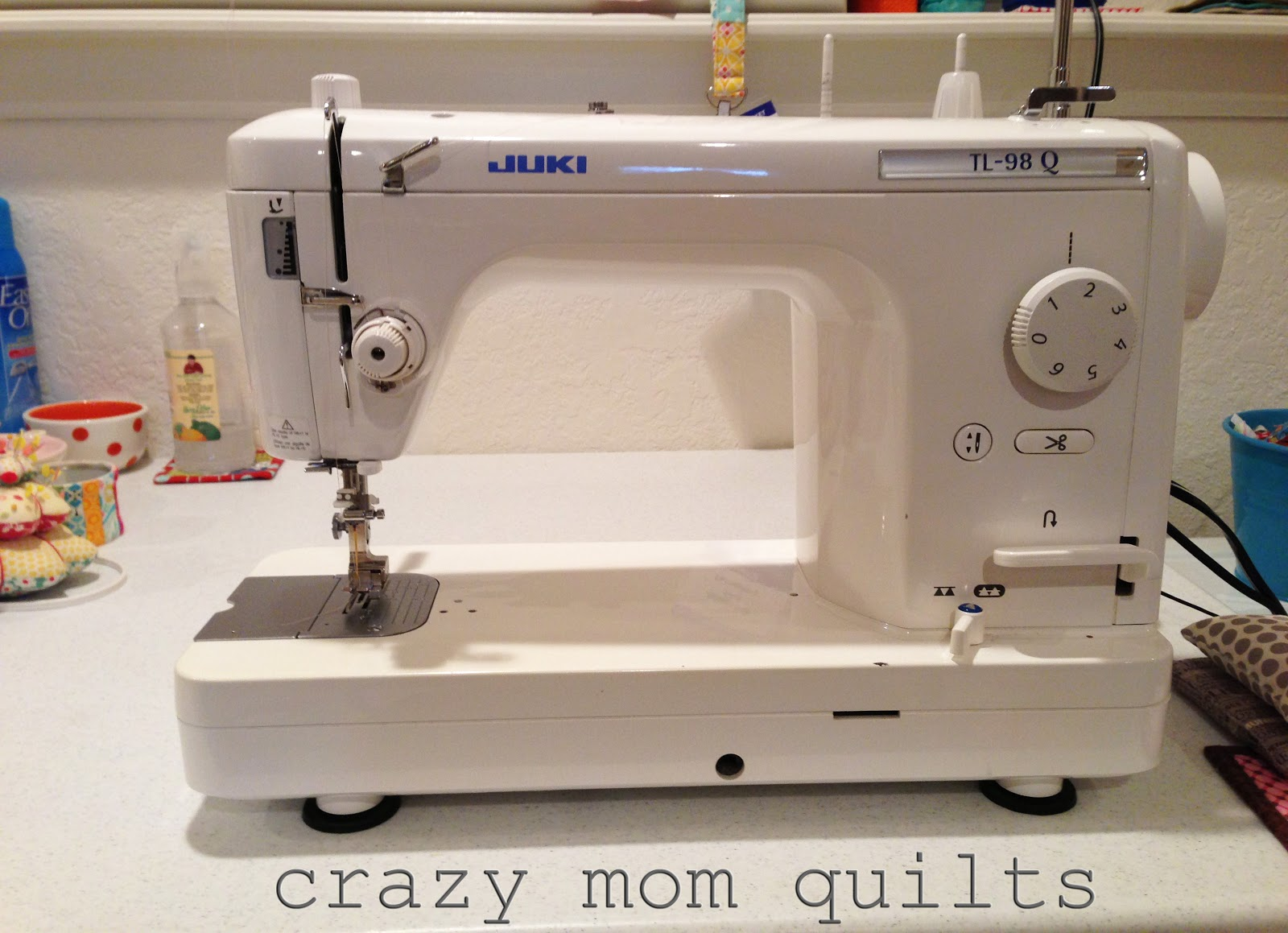 crazy mom quilts: sewing machine rundown