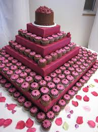 Cupcake Wedding Cake Pictures