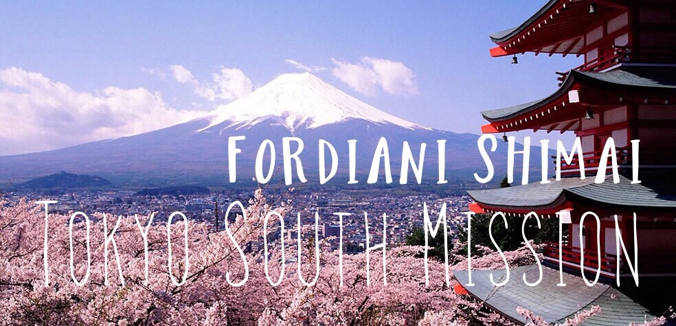 Japan Tokyo South Mission ~ Sister Fordiani