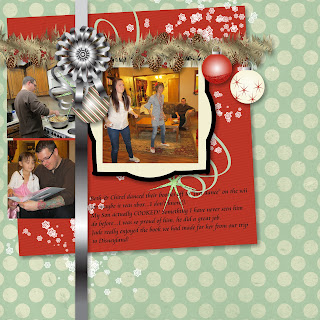Christmas Layout Page 5