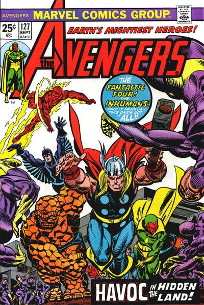 Avengers #127, the Inhumans