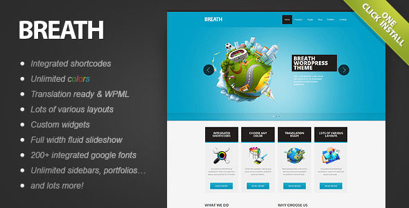 Image for Breath – Professional Theme by ThemeForest