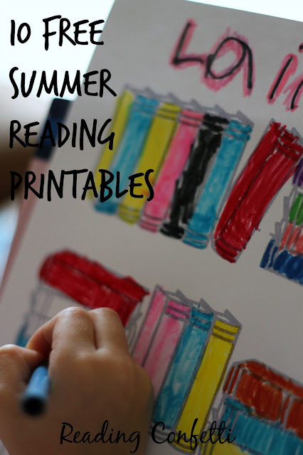 10 free printables that encourage kids to read this summer