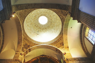 monasterio de Corias, cupula iglesia