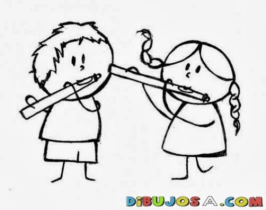 Para practicar con la flauta