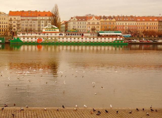 Ботель Admiral в Праге
