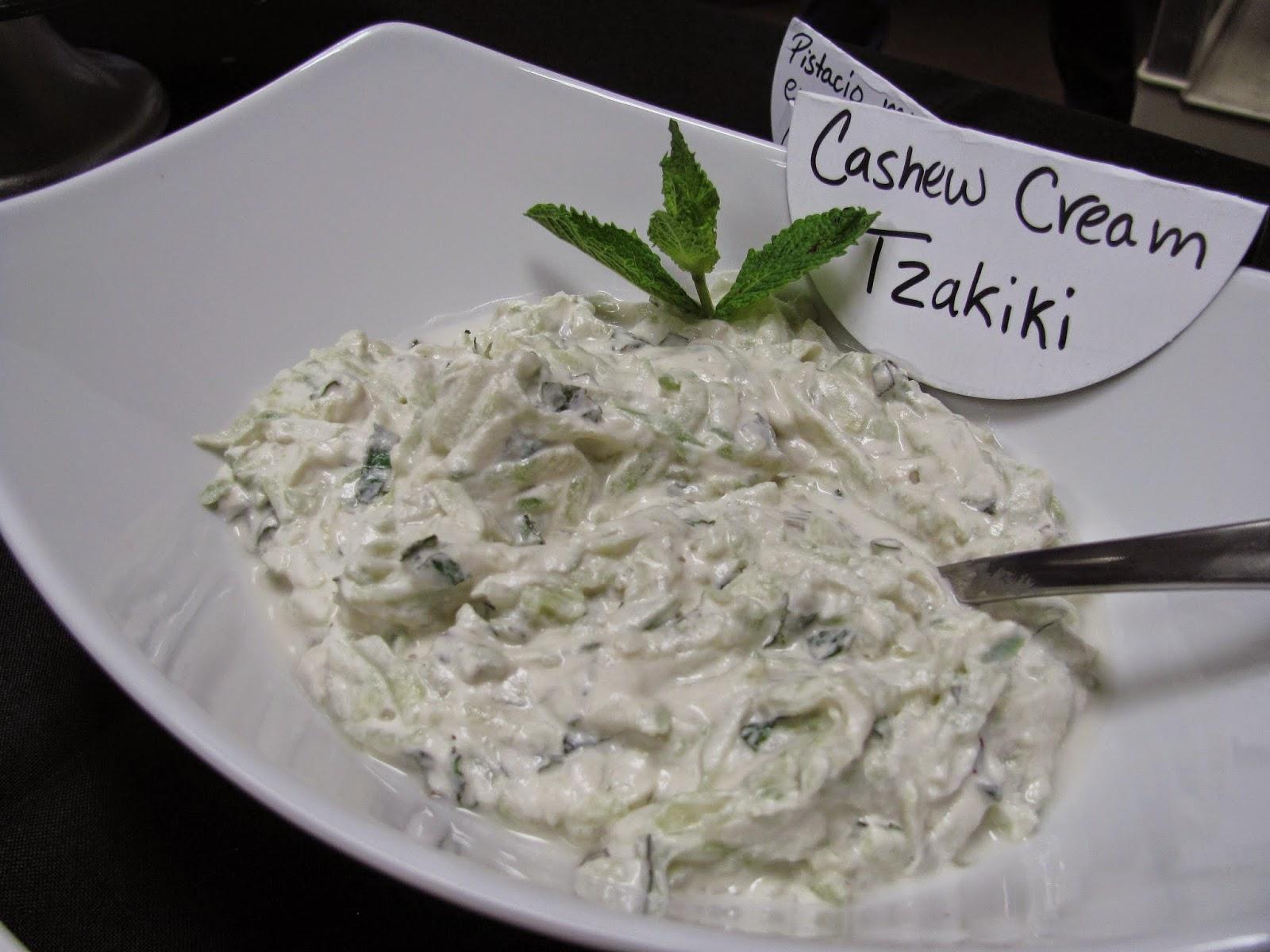 Cultured Cashew Cream Tzatziki | Vegan Tzatziki