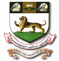 Madras University Logo Image