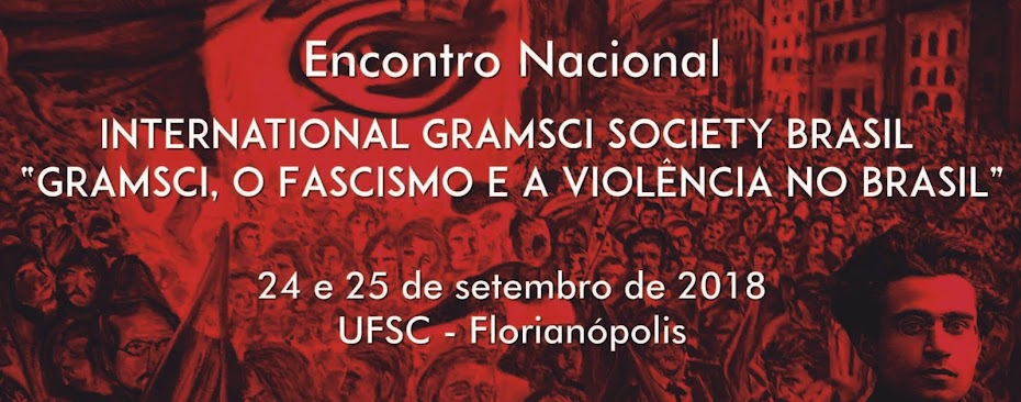 Encontro Nacional da International Gramsci Society Brasil IGS-B