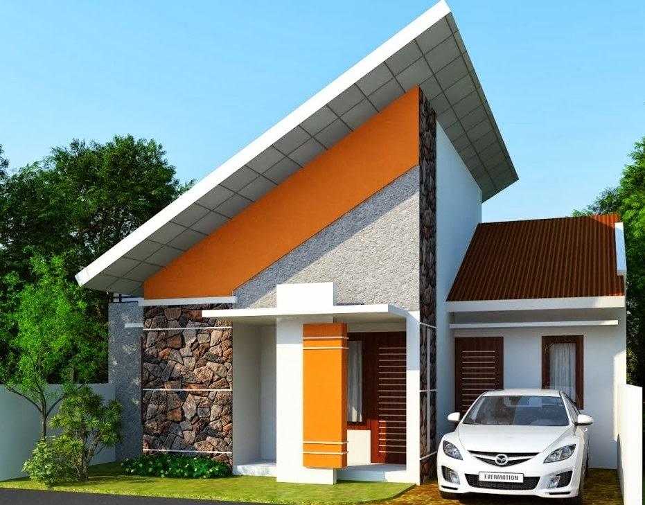 Desain Terbaru Rumah Minimalis Modern 1 Lantai Model 2014 gambar 1
