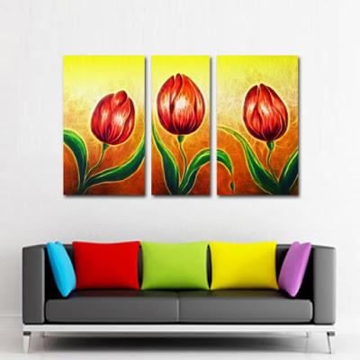 tablouri canvas cu flori