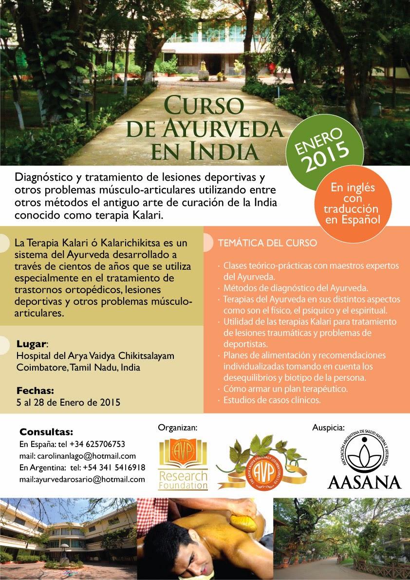 Curso de Ayurveda en India