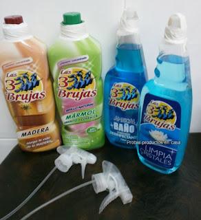 Limpiadores las 3 Brujas