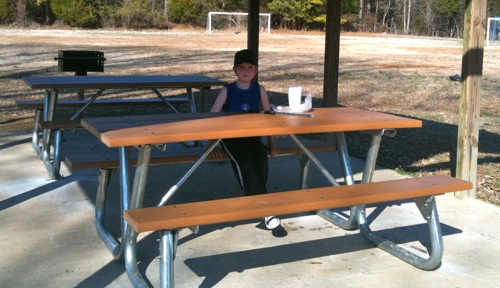 Ready for Spring – Picnic Tables and Grills