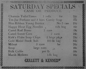 Gullett & Kennedy 1937 Ad