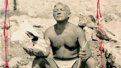 Picasso op het strand