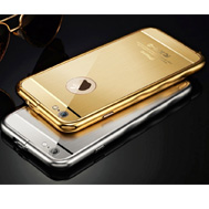 เคส-iPhone-6-รุ่น-เคส-iPhone-6-และ-6s-เคส-bumper-ขอบโค้ง-พร้อมกระจกนิรภัยหลังกันรอยนิ้วมือ-ของแท้