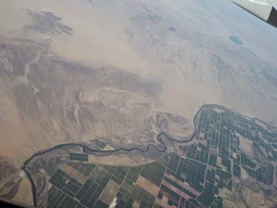 Flight From LAX To ABQ – February 11, 2015 – Arizona Segment