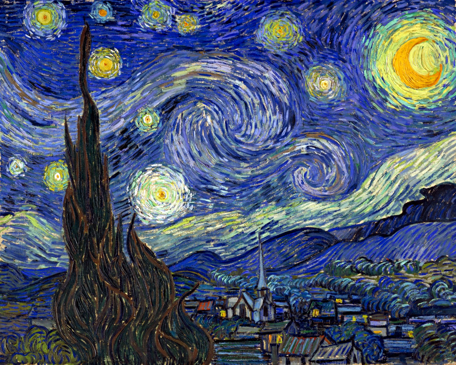 th writing seminar blog the starry night by vincent van gogh the starry night by vincent van gogh